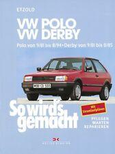 REPARATURANLEITUNG WARTUNG SO WIRD´S WIRDS GEMACHT 34 VW POLO 2 II DERBY