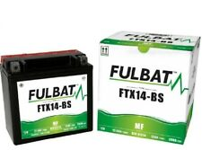 Bateria Moto Fulbat FTX14-BS | YTX14-BS | GTX14-BS | BTX14-BS | CTX14-BS