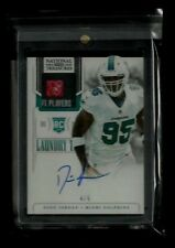Dion Jordan 2013 National Treasures LAUNDRY TAG Patch Auto Rookie #/5! Seahawks!