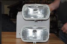 lot 2 optiques de phare  citroen ami 8 H4 13530210 adaptation possible sur ami 6