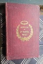Antiquarische Minibücher mit Belletristik-Genre von 1850-1899