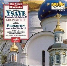 Ysaye: 6 Sonatas for Solo Violin, Op. 27 / Prokofiev: Sonata For Solo Violin, Op