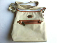 BOC Born Concept Handbag Crossbody Messenger Boho Tan Brown Faux Leather