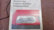 VW Golf 3 Mk3 Cabrio GT GTI 16V TDI VR6 syncro KAMEI Headlight Eyebrows Trim