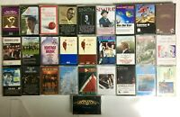 Cassette Lot of 38+ Tapes | Frank Sinatra, Nat King Cole, Johnny Mathis & More