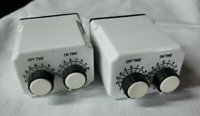 Lot of (2) 1A366N Dayton Time Delay On Time Off Time Time Delay Relays NEW!