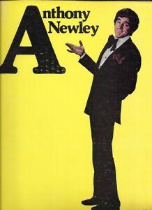 Anthony Newley & Burt Bacharach   TOUR    Souvenir Program 1970's