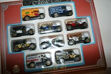 Old time diecast cars assortment close 10 cars & trucks around 1/64 scale