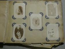 Album 150 photos sepia anciennes 1929 - famille, enfants, châteaux, Paris