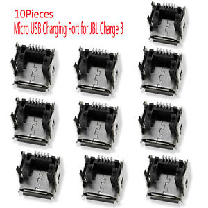 3/6/10X Replacement Micro USB Charging Port for JBL Charge 3 Bluetooth Speaker