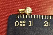 Gold Rosegold Anhänger 585 mit  Zirkonia  0,36 Gramm NEU Geschenk