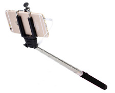 Selfie Stick Monopod With Wire 3.5 MM Jack Cable