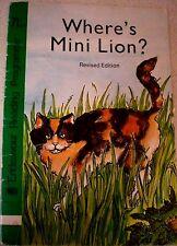 Aust Vintage ENDEAVOUR READING PROGRAMME  - WHERE'S MINI LION? Rev. Ed. #7L s/c
