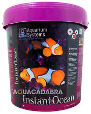 Instant ocean 20kg synthétique sel seau marine aquarium reef coral fish tank