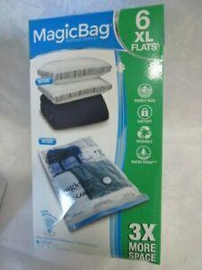 MagicBag Original Instant Space 6 XL FLAT VACUUM COMPRESSION SEAL STORAGE BAG