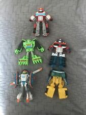 Play-school Transformers Rescue Bots 5 Inch   Lot Of 5