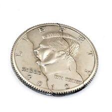 Street Magic Trick Biting Folding Coin Magic Pocket Trick Bite Out Close Up Coin