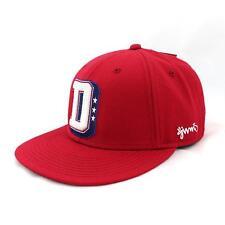 Djinns College & étoiles Casquette Snapback Bonnet taille unique, rouge, 90923