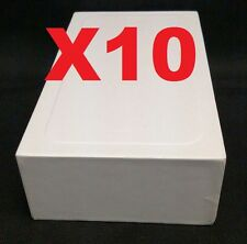 10X iPhone 5 5C 5S SE Empty Retail Box Plain Reseller Only Blank Repackage Box