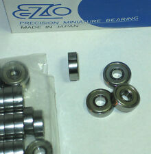 Kugellager EZO JAPAN Precision Miniature Bearing 608 ZZ KDD AH02 TOP!