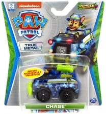 Paw Patrol JUNGLE RESCUE Chase True Metal Vehicles NEW