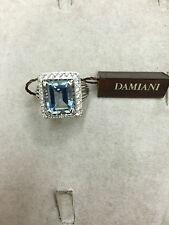 Anello Damiani classic diamanti ring acquamarina assicurazione gioiello 80037686