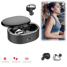 Bluetooth Earphones True Wireless Stereo Headset Earbud for Apple iPhone Samsung