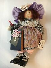 "Little Soul's Doll ""Dawn� By Gretchen Wilson 'Holding A Book' - Year 2001"