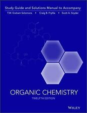 Organic Chemistry, 12e Study Guide / Student Solutions Manual by Solomons, T. W
