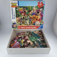 Ravensburger Disney Pixar Toy Story 60 Piece Giant Floor Puzzle Used Complete