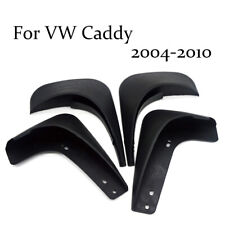 ABS Front+Rear Flaps Flag Splash Mud Guard Protective Fender For VW Caddy 04-10