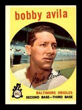 1959 Topps #363 BOBBY AVILA EX+ *56