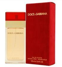 DOLCE & GABBANA Red by Dolce&Gabbana 3.4oz EDT Women NIB *RARE*
