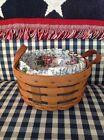 Longaberger Heartland Button Basket Set - Mother's Day Floral
