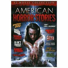 American Horror Stories 12 Movie Collection (DVD 2013 3-Disc Set) RARE FILMS NEW
