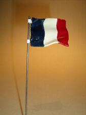 2  DRAPEAUX  FRANCE  FLAG  POUR  CASERNE STARLUX  DEPREUX  VROOM 1/43