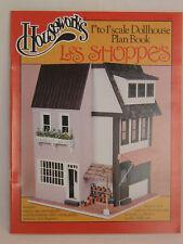 Les Shoppes Store dollhouse Plans Book 1-12 scale  Houseworks