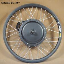 24inch Font Wheel Mountain Bike Modified 48V 500W E-bike Conversion Kit Bicycle