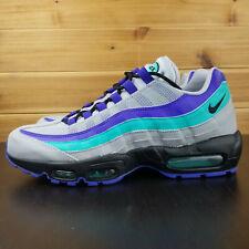 finest selection 8e81b fdb5e Nike Air Max 95 OG Shoes Black Indigo Burst Grape AQUA AT2865-001 Men s Sz