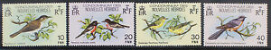 New Hebrides (French) 1980 Birds MNH SG F296-F299