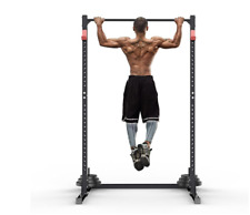 NEW Home Squat Rack Cages Pull Up Bars Fitness Chin Up Bars Weight Training