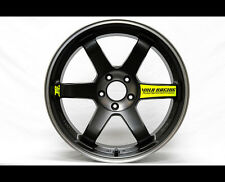 8 PICS Volk Racing Wheel JDM TE37SL black edition Decal Sticker_Yellow Fluo
