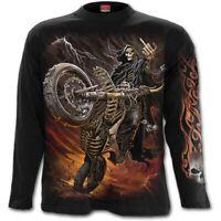 Spiral Direct BIKE LIFE Long sleeve T-Shirt Reaper/SteamPunk/Metal/Biker