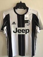 Adidas Juventus Home soccer jersey 2016-17 White Black Size Large Men's Only