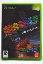 Mashed (Microsoft Xbox) Spiel in OVP, PAL, CIB, TOP, GUT