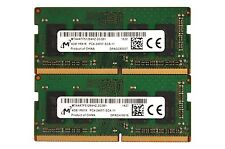 8GB (2x4GB) DDR4 PC4-19200 PC4-2400T 2400 MHz Laptop SODIMM RAM Memory Upgrade