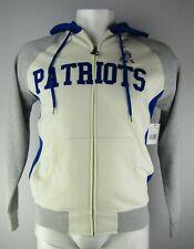 New England Patriots NFL Starter Men's Full-Zip Hoodie