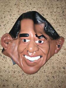 Democratic President Barrack Obama Adult Vinyl Mask Halloween Costume Accessory