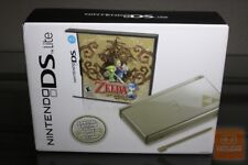 Nintendo DS Lite Legend of Zelda: Phantom Hourglass Gold Handheld System NEW!