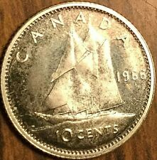 1966 CANADA SILVER 10 CENTS